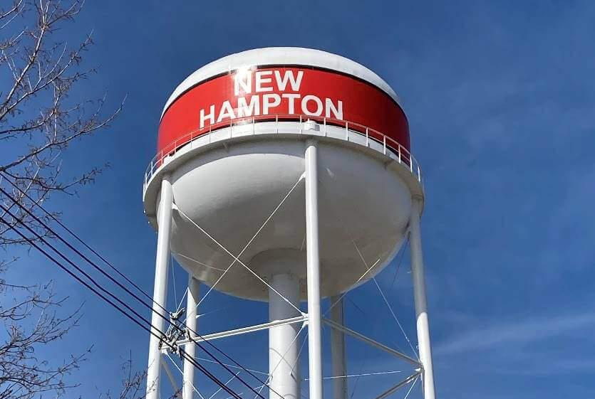 New Hampton Water Tower