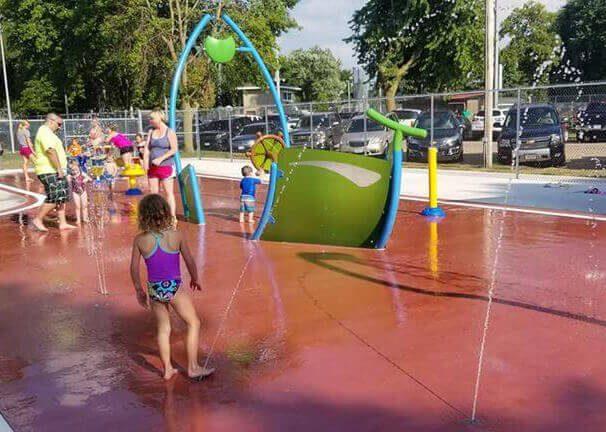 New Hampton Splash Pad